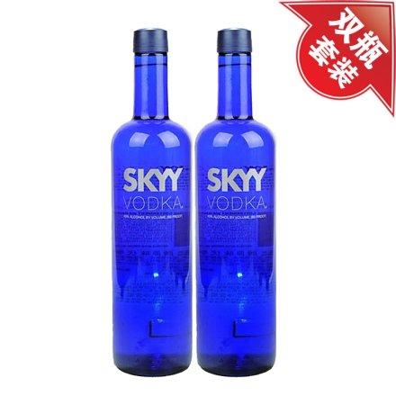 40°深蓝伏特加750ml(双瓶装)(重复勿用)