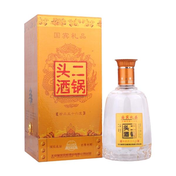 【老酒特卖】56°京都二锅头珍品500ml(2010年)