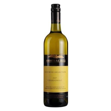 澳大利亚2007猎人山霞多丽干白葡萄酒750ml