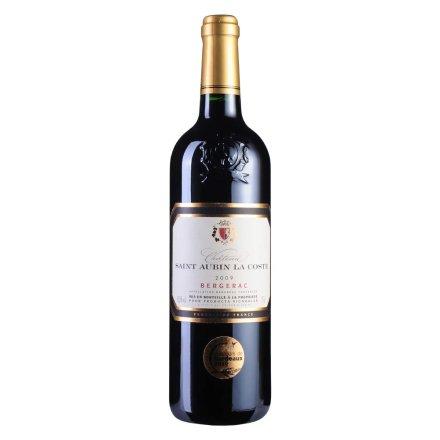 【清仓】法国红酒拉格斯庄园2009干红葡萄酒