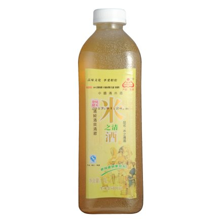 4-13°孝感米之清酒塑瓶1000ml