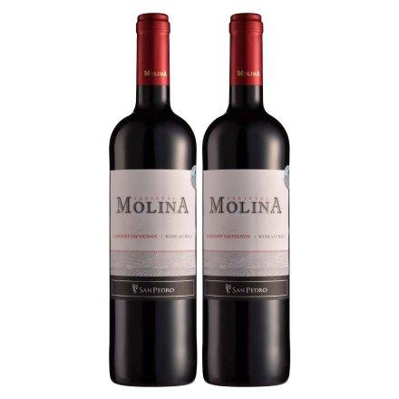 智利2012年莫琳娜赤霞珠干红葡萄酒750ml(双瓶装)
