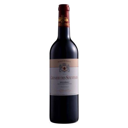 法国忆红楼2010红葡萄酒750ml