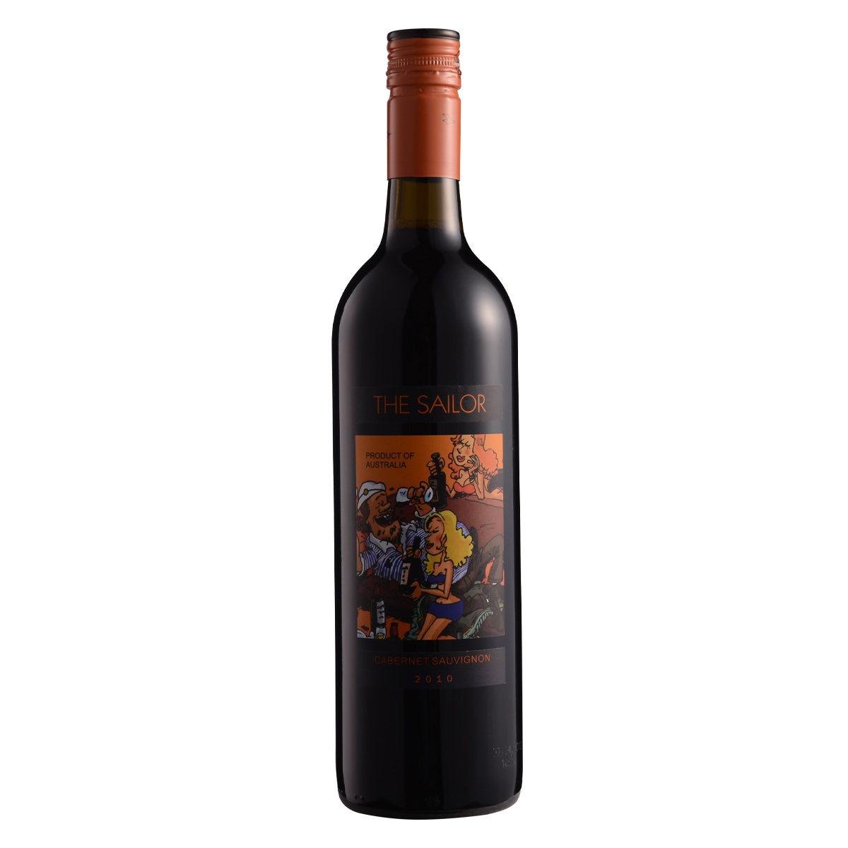 12.5°詹姆士欢乐水手2010卡本纳干红葡萄酒750ml