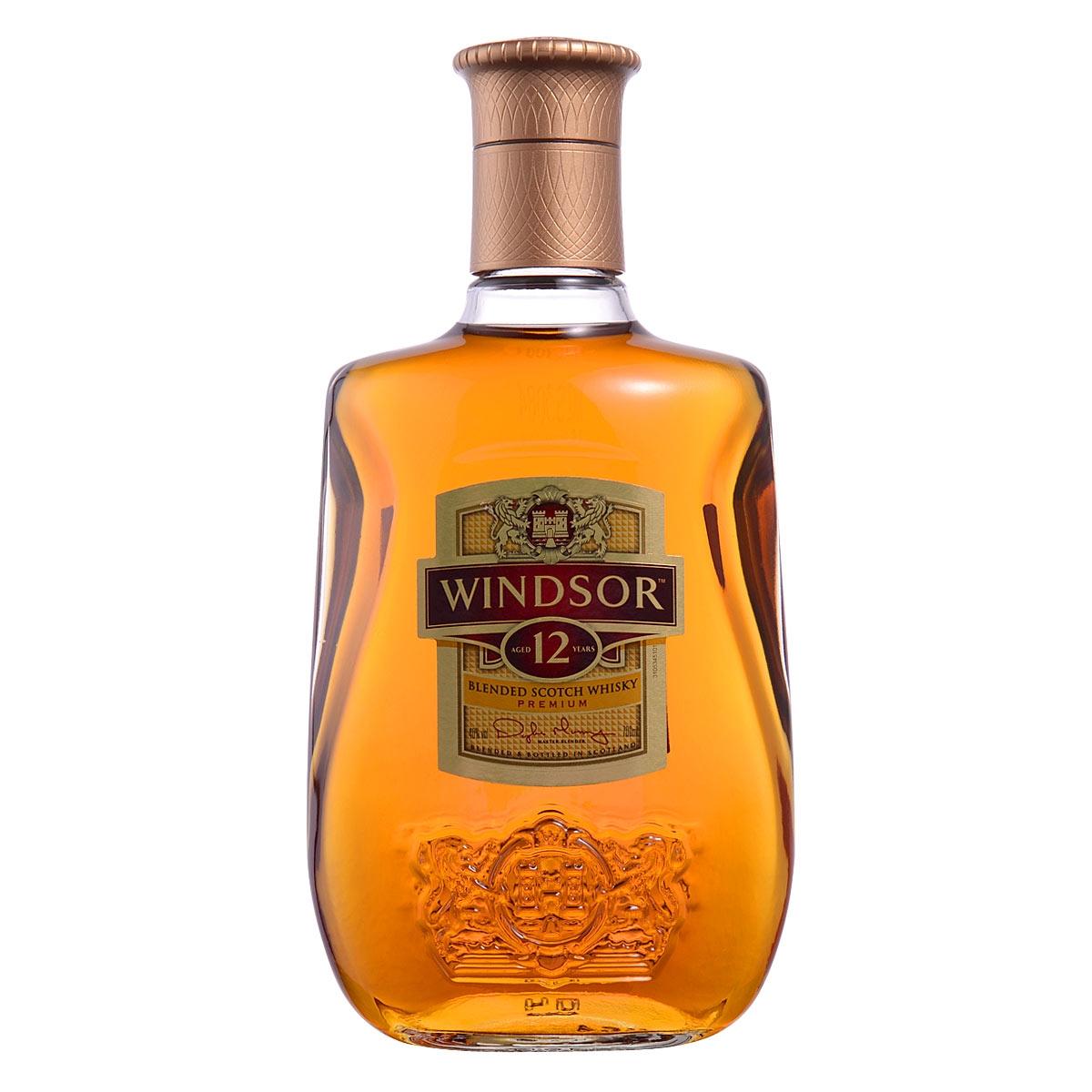 40°英国温莎12年调配苏格兰威士忌700ml