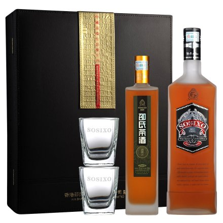 邵氏茶酒礼盒套装500ml+700ml