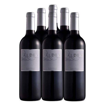 西班牙安迪雅2011红葡萄酒750ml (6瓶装)