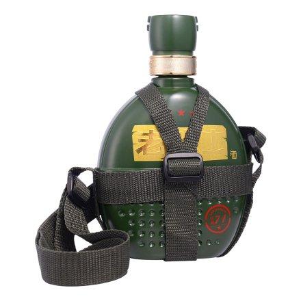 【清仓】52°老战士七一背包带限量版500ml
