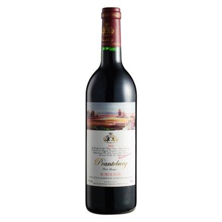 【清仓】法国勃兰登堡优级波尔多干红葡萄酒750ml