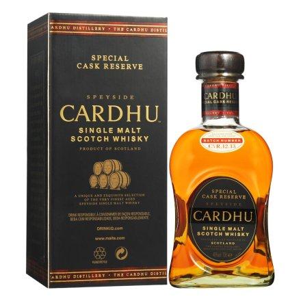 40°卡杜橡木桶珍藏版单一麦芽苏格兰威士忌700ml