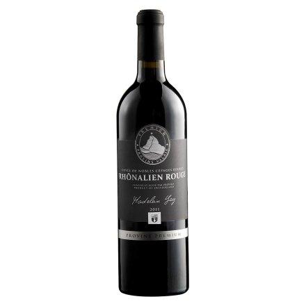 瑞士罗纳河谷干红葡萄酒750ml