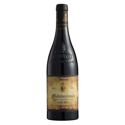 法国小钟楼干红葡萄酒750ml