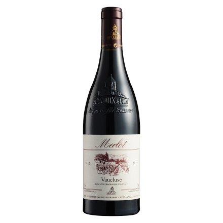 法国梅洛干红葡萄酒750ml