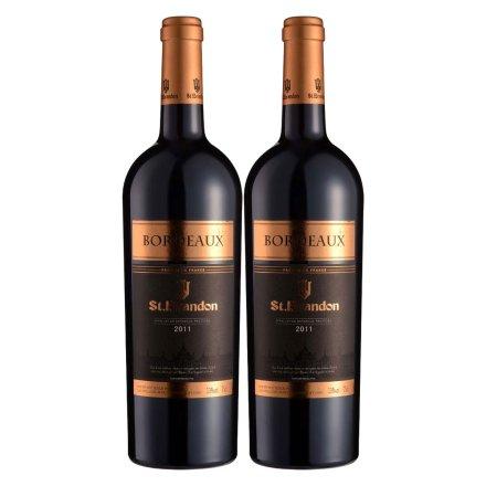 法国圣堡兰帝波尔多葡萄酒750ml(双瓶装)