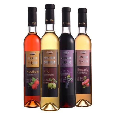 桓龙湖有机纯鲜果酒(4瓶装)