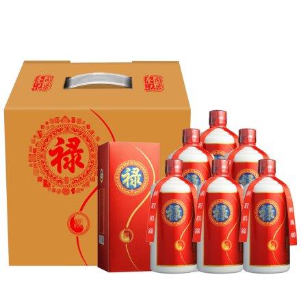 53°茅台镇同乐春禄酒500ml(6瓶装)