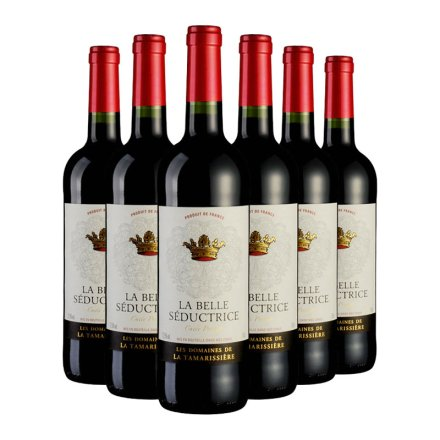 法国塞德斯佳酿干红葡萄酒750ml(6瓶装)