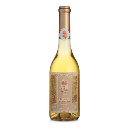 匈牙利托卡伊斯缔皇冠晚收甜白葡萄酒500ml