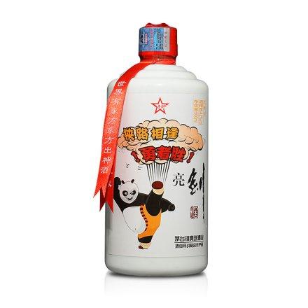 42°亮剑功夫熊猫酒500ml