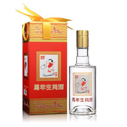 52°藏羚羊生肖酒300ml