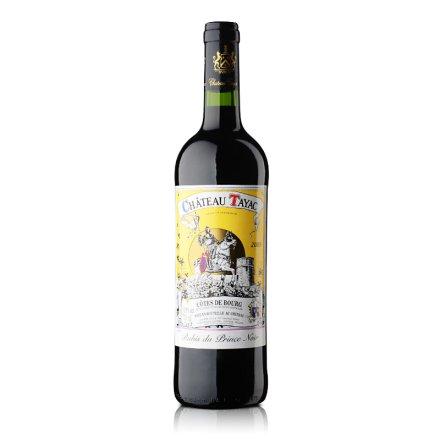 法国泰雅克古堡黑王子之红宝石葡萄酒750ml