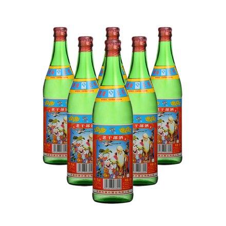 50°老干部酒(绿瓶) 500ml(6瓶装)