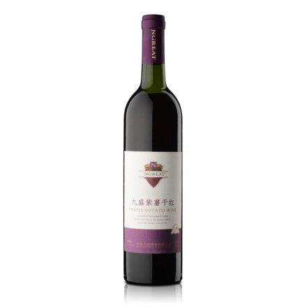 九盛紫薯干红酒735ml