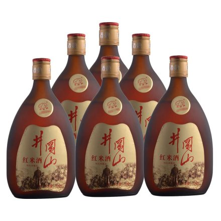 12°井冈山金标红米酒500ml(6瓶装)