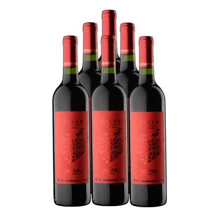 【清仓】尼雅臻爱永恒(中式婚宴)干红葡萄酒750ml(6瓶装)