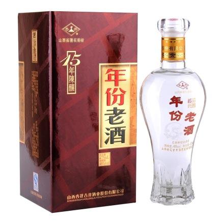【清仓】48°杏井年份老酒15陈酿475ml