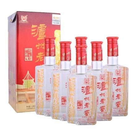 52°泸州老窖六年陈头曲500ml(6瓶装)