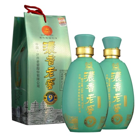 42°泸州老窖浓香青瓷500ml(双瓶装)