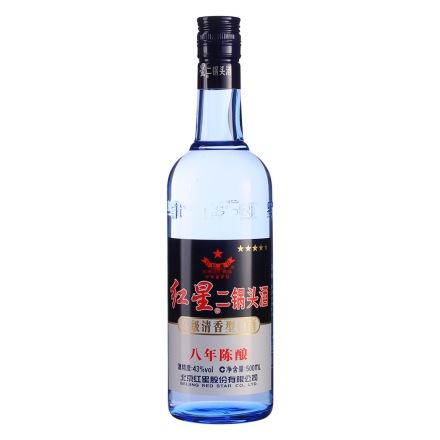 43°红星蓝瓶二锅头500ml