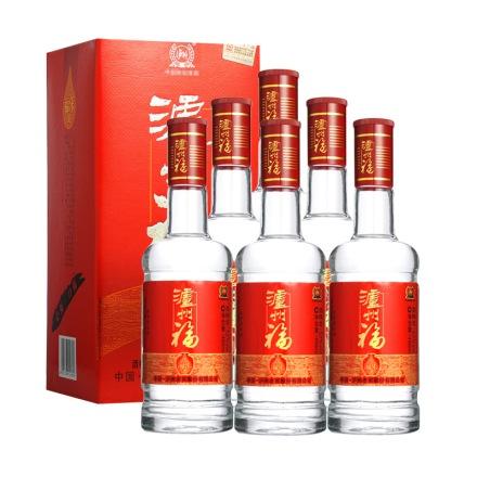 52°泸州老窖泸州福福乐装450ml(6瓶装)