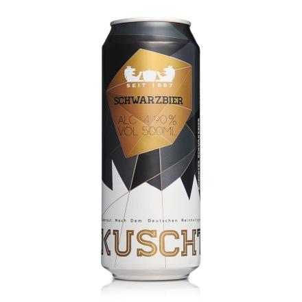德国库斯特黑啤酒500ml