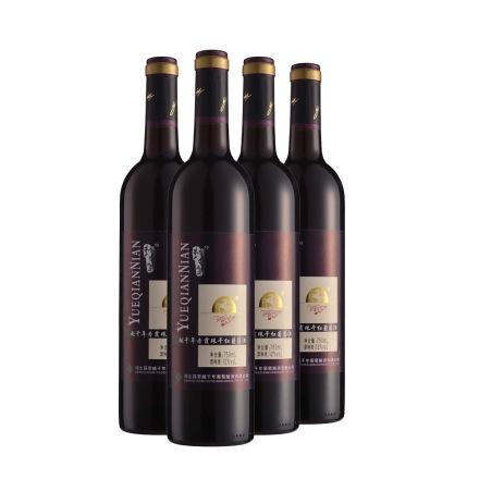 中国越千年蓝标赤霞珠干红葡萄酒(4瓶装)