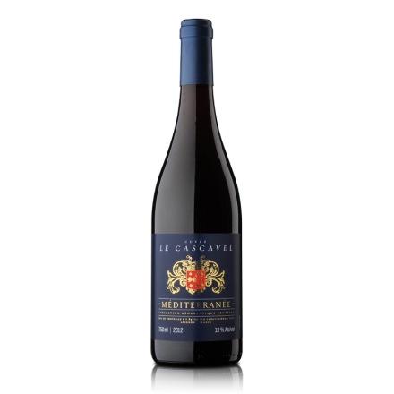【清仓】法国原瓶进口卡斯维拉干红葡萄酒750ml