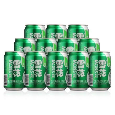 雪花清爽啤酒330ml(12瓶装)