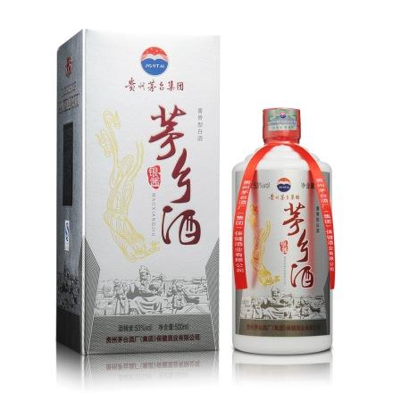 53°茅台集团茅乡酒银酱500ml