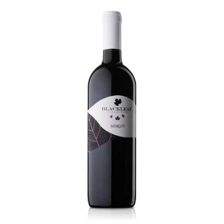 意大利拉提亚叶之藤梅洛干红葡萄酒750ml