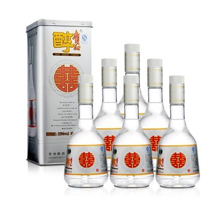 35°贵州醇囍酒500ml(6瓶装)
