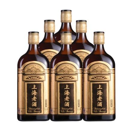 10°雅侬尚品十年陈上海老酒500ml(6瓶装)
