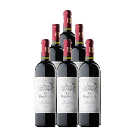 法国卡宾堡干红葡萄酒750ml(6瓶装)