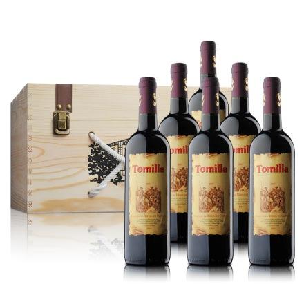 西班牙多媚娅干红葡萄酒750ml*6
