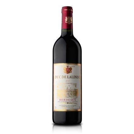 【清仓】法国拉林德公爵干红葡萄酒750ml