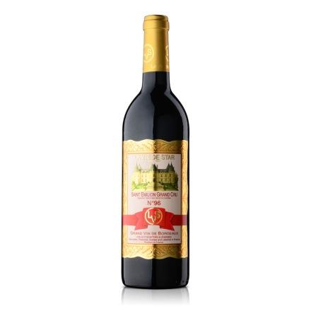 【清仓】法国拉维之星96号圣艾米利永特级酒园红葡萄酒750ml