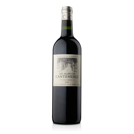 法国佳得美副牌红葡萄酒2007年750ml