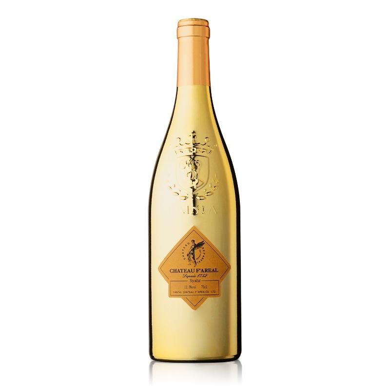 法国法莱雅酒堡西拉干红葡萄酒(金爵)750ml