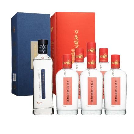 42°亨茂號之浏阳河年份酒475ml+亨茂號之浏阳河特酿475ml(6瓶装)