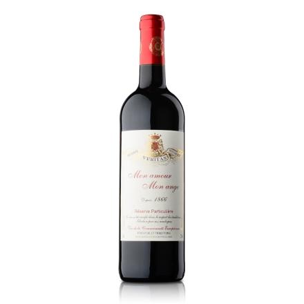 法国天使之恋干红葡萄酒750ml